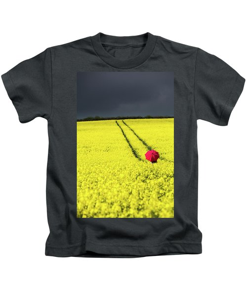 Red And Yellow And....... Kids T-Shirt