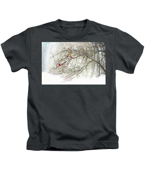 Red Bird Convention Kids T-Shirt
