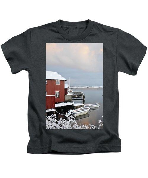 Boathouses Kids T-Shirt