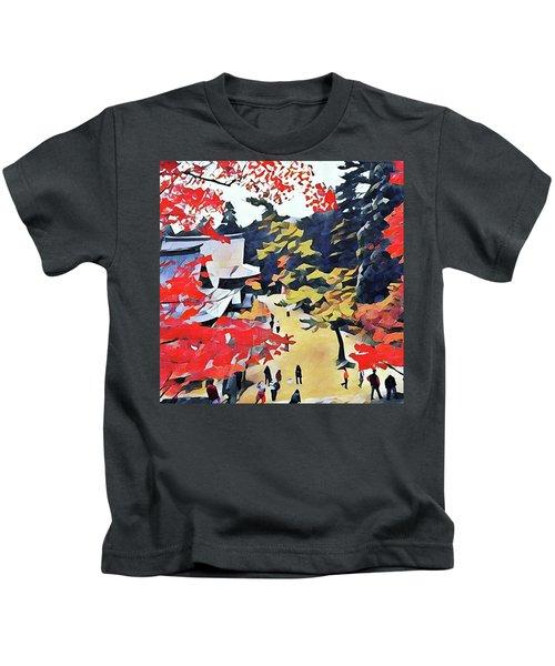 Autumn Color  Kids T-Shirt