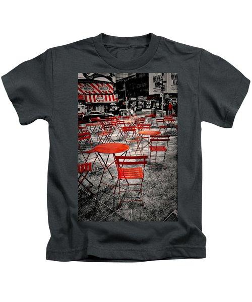 Red In My World - New York City Kids T-Shirt
