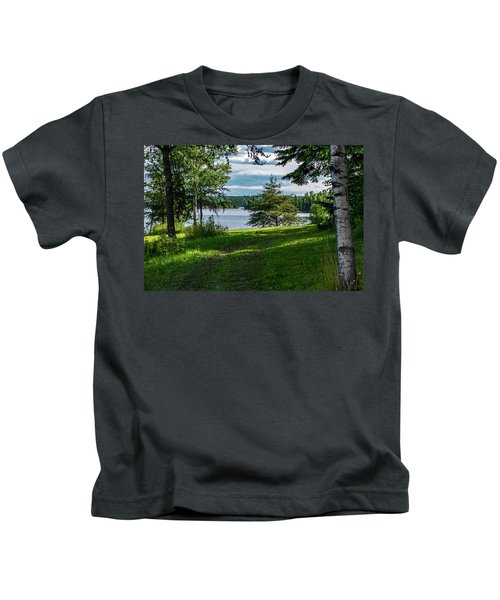 Red Lake Ontario 2 Kids T-Shirt