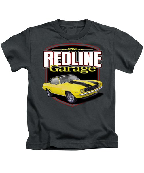 Red Line Camaro Kids T-Shirt