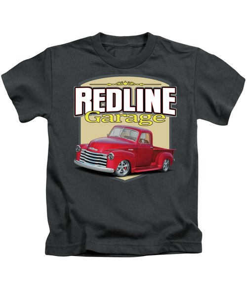 Red Line Garage Chevy Kids T-Shirt