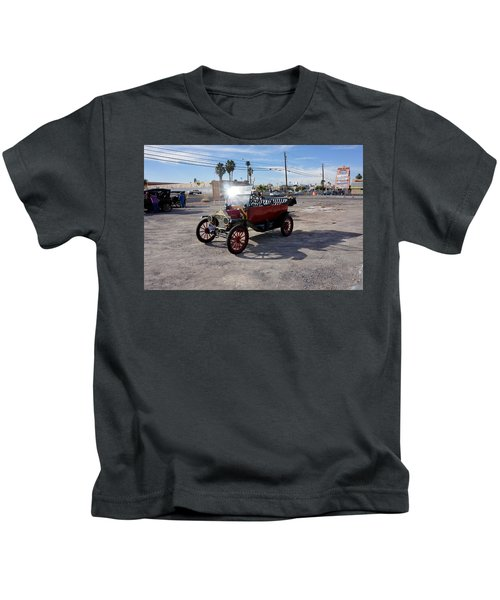 Red Roadster Kids T-Shirt