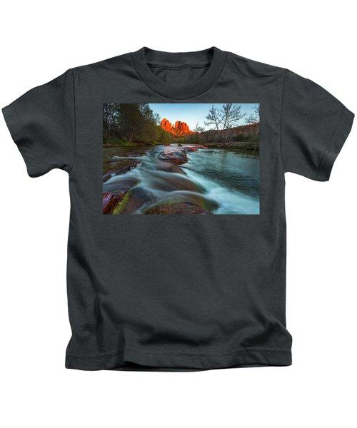Red Rock Cascade Kids T-Shirt