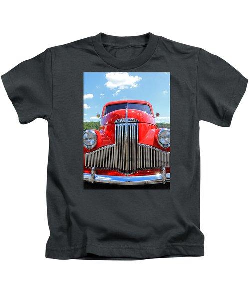 Red Studebaker Kids T-Shirt