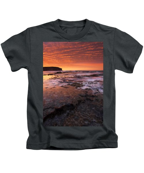Red Tides Kids T-Shirt