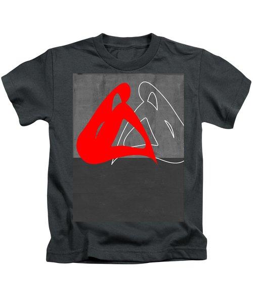 Red Woman Kids T-Shirt