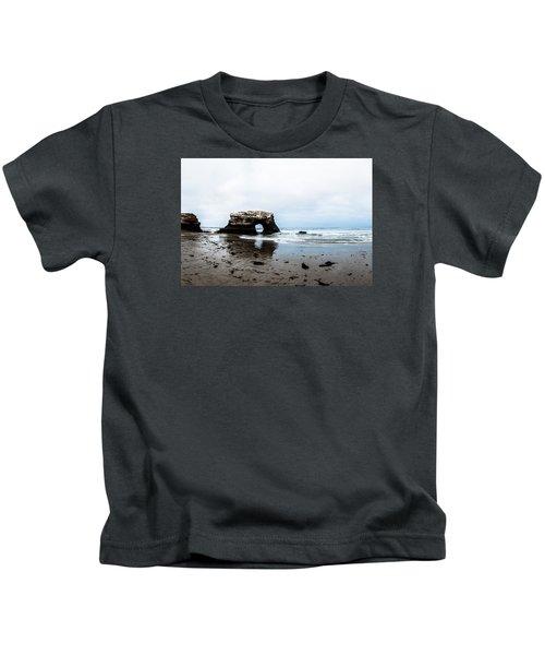 Redo Of Natural Bridges Kids T-Shirt