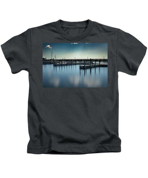 Reflected Harbor Kids T-Shirt