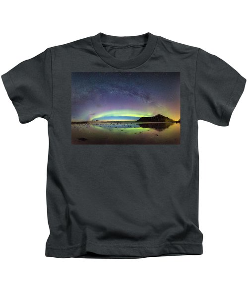 Reflected Lights Kids T-Shirt