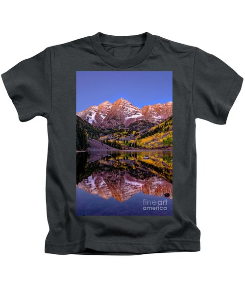 Reflecting Dawn Kids T-Shirt