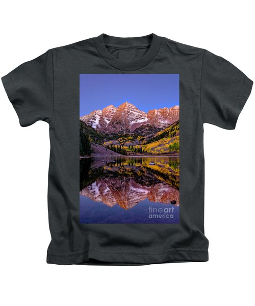 Reflecting Dawn Kids T-Shirt