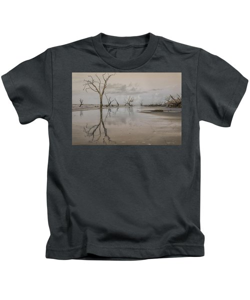 Reflection Of A Dead Tree Kids T-Shirt