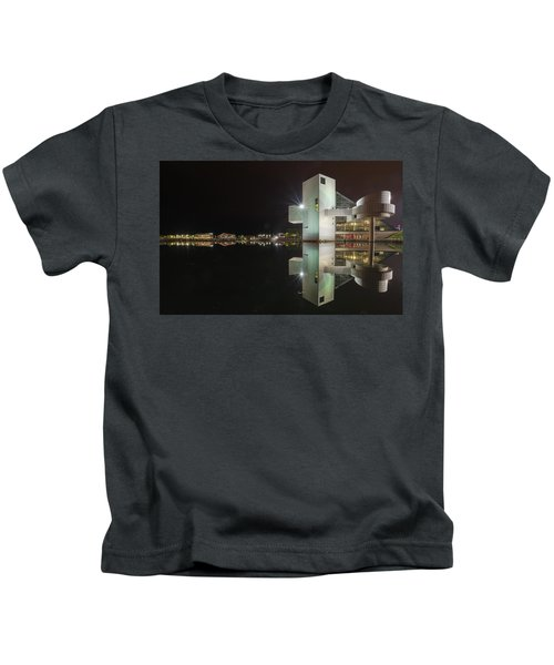 Reflection Of Rock And Roll In Cleveland Kids T-Shirt