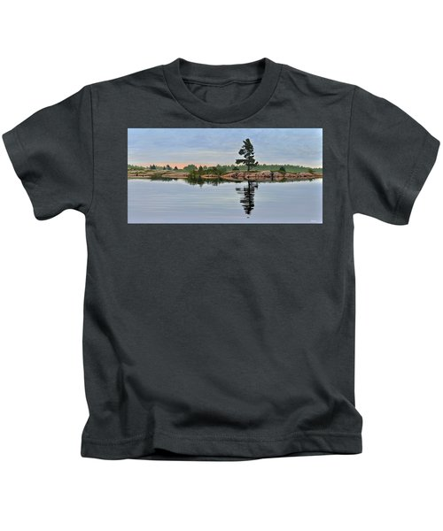 Reflection On The Bay Kids T-Shirt