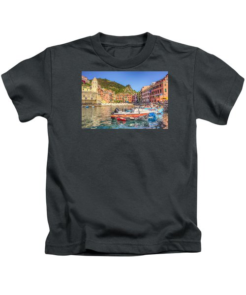 Reflections Of Italy Kids T-Shirt