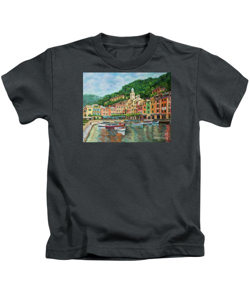 Reflections Of Portofino Kids T-Shirt