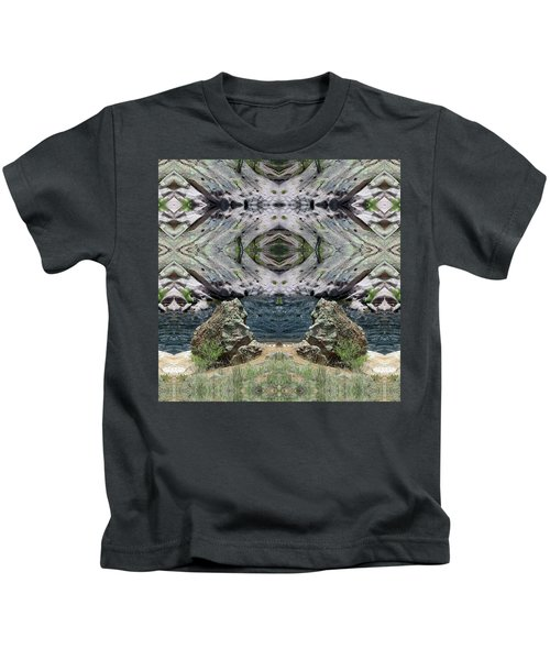 Reflections Of Self Before Entering The Vortex Kids T-Shirt