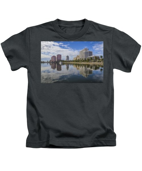 Reflections Of West Palm Beach Kids T-Shirt