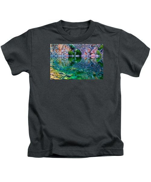Reflective Pool Kids T-Shirt