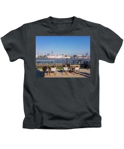 Relax On The Elbe Kids T-Shirt