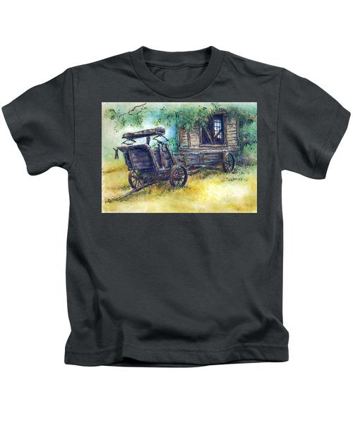 Retired At Last Kids T-Shirt