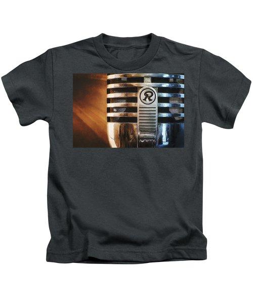 Retro Microphone Kids T-Shirt