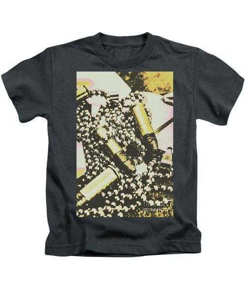 Retro Military Poster Art Kids T-Shirt