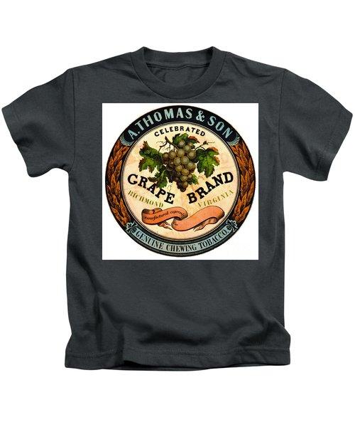 Retro Tobacco Label 1860 A Kids T-Shirt