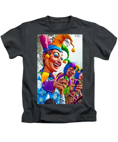Rex Mardi Gras Parade Xi Kids T-Shirt
