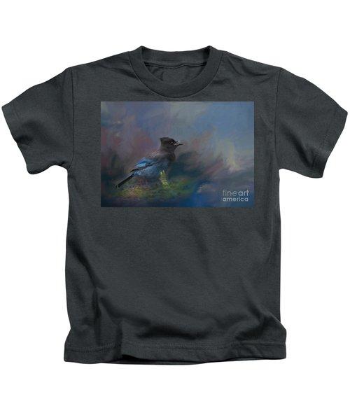 Rhapsody In Blue Kids T-Shirt