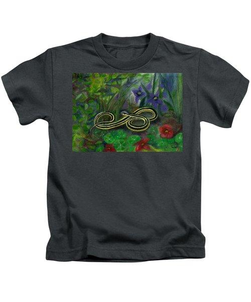 Ribbon Snake Kids T-Shirt