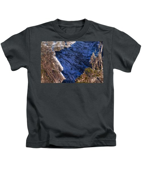 Ridgeline Shadows Kids T-Shirt