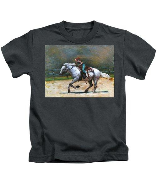 Riding Dollar Kids T-Shirt