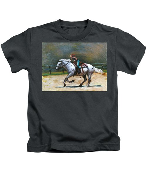 Riding Dollar Kids T-Shirt