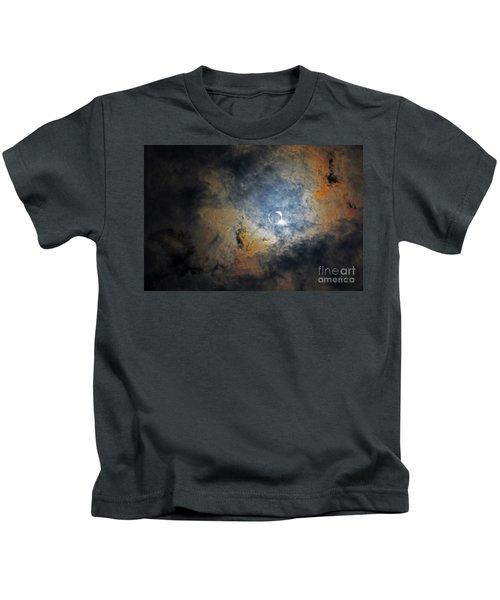Ring Around The Moon Kids T-Shirt