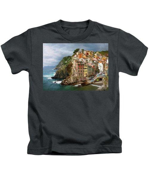 Riomaggiore Italy Kids T-Shirt