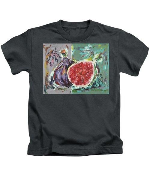 Ripe Figs Kids T-Shirt