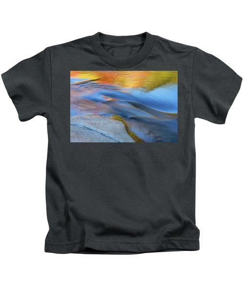 Ripples Flow Swift River Nh Kids T-Shirt