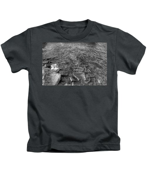 Ripples On Lake Champlain Kids T-Shirt