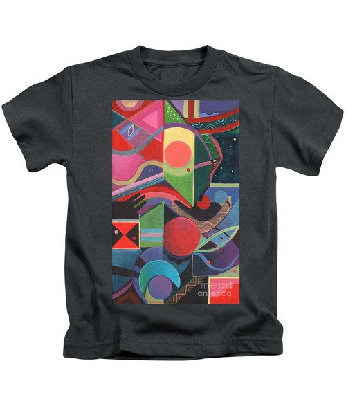 Rising Above And Synergy 2 Kids T-Shirt