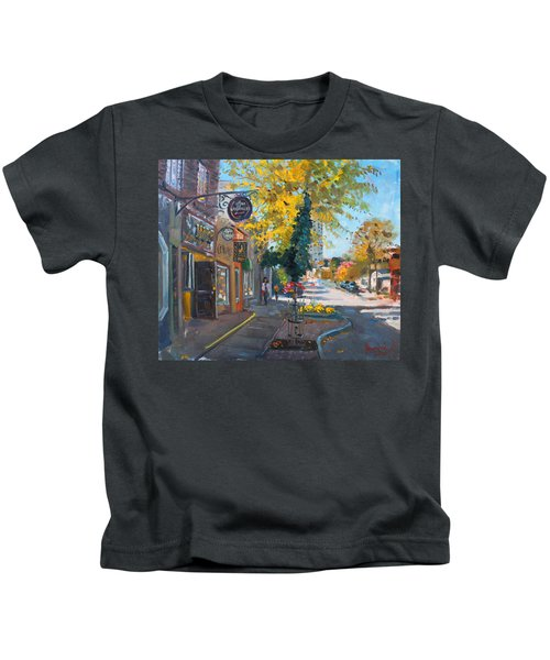 River Coyote Gallery Mississauga Kids T-Shirt