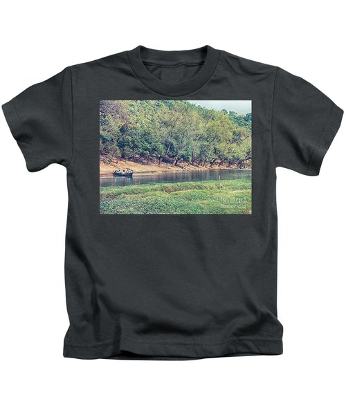 River Crossing Kids T-Shirt