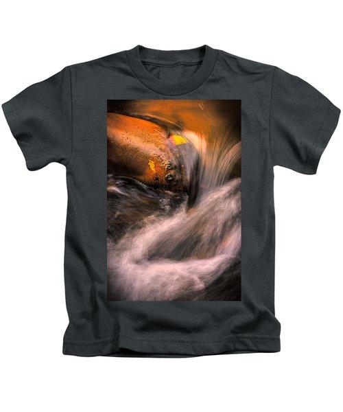 River Flow, Zion National Park Kids T-Shirt