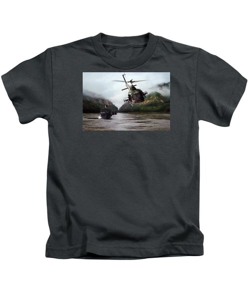 River Patrol Kids T-Shirt