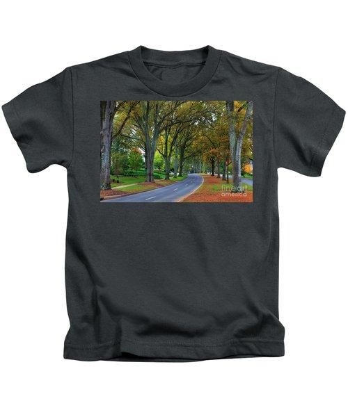 Road In Charlotte Kids T-Shirt