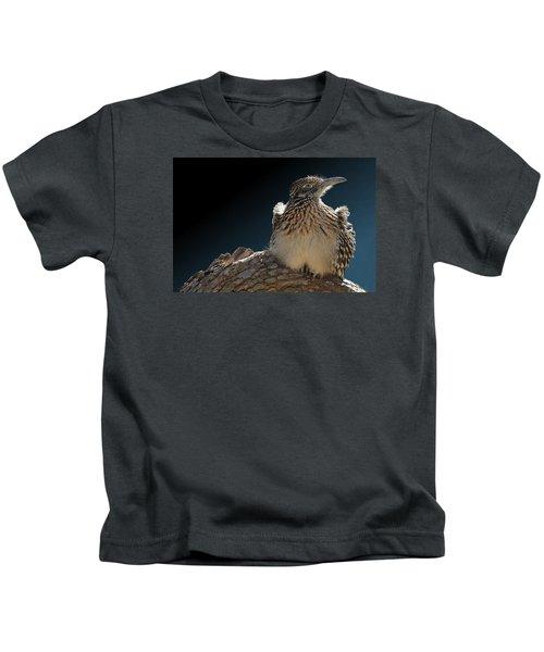 Roadrunner On A Log Kids T-Shirt