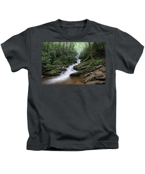 Roaring Fork Falls Kids T-Shirt